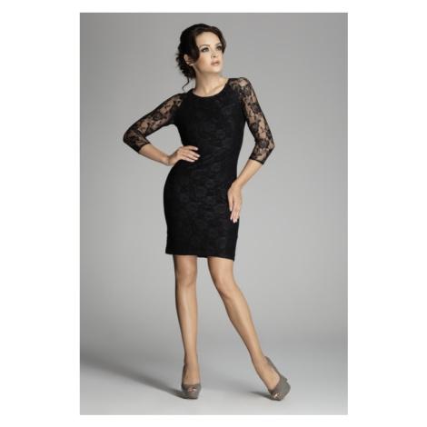 Damen Kleider M076 black Figl