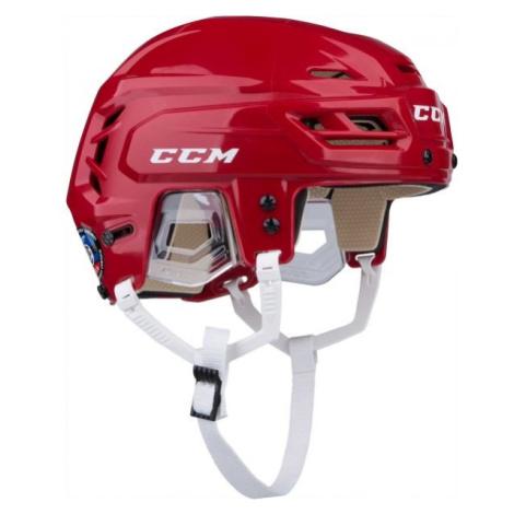 Rote ausrüstung für hockey