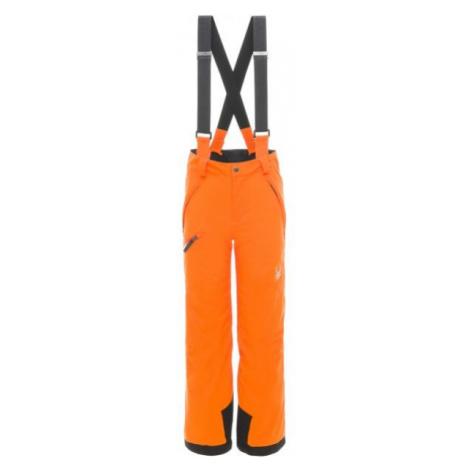 Spyder PROPULSION PANT orange - Jungen Skihose