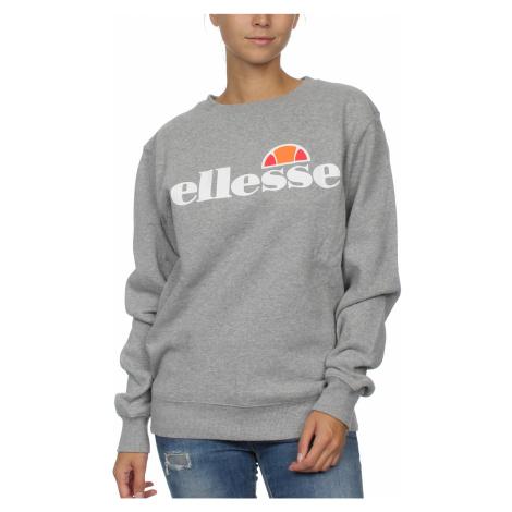 Ellesse Sweater Damen AGATA CREW SWEAT Grau Grey Marl