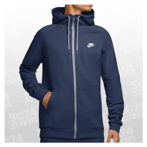 Nike Sportswear Modern Hoodie FZ blau/weiss Größe L