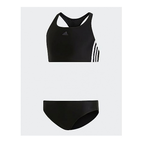 Adidas 3-Streifen Bikini - Black / White, Black / White