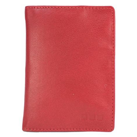 M.Collection Ausweisetui Milla Alwan V7 Damen Leder rot Maitre
