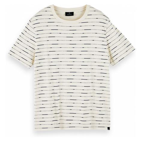 Scotch & Soda T-Shirt Men SHORT SLEEVE TEE 156803 Beige 0218
