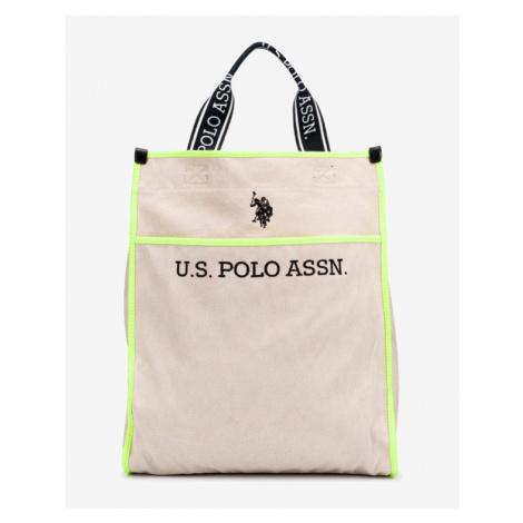 U.S. Polo Assn Halifax Tasche Gelb Beige