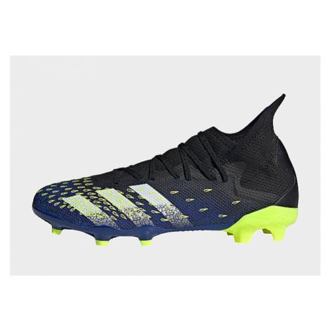 Adidas Predator Freak.3 FG Fußballschuh - Core Black / Cloud White / Solar Yellow - Herren, Core
