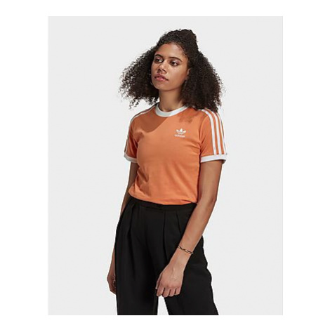 Adidas Originals Adicolor Classics 3-Streifen T-Shirt - Hazy Copper - Damen, Hazy Copper