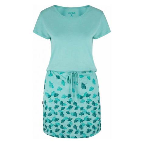 Loap ASCALA blau - Kleid