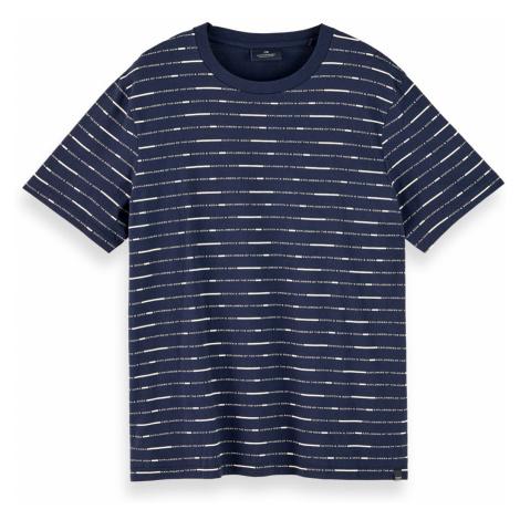 Scotch & Soda T-Shirt Men SHORT SLEEVE TEE 156803 Blau 0220