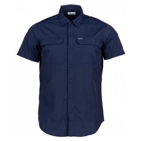 Columbia SILVER RIDGE 2.0 SHORT SLEEVE SHIRT dunkelblau - Herrenhemd mit kurzen Ärmeln