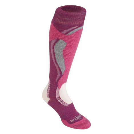 Socken Bridgedale Control Fit Midweight Women´s 315 berry/pink