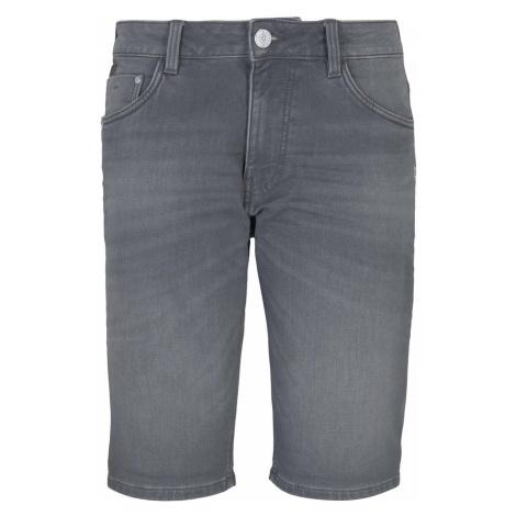TOM TAILOR Herren Josh Slim Jeans, grau