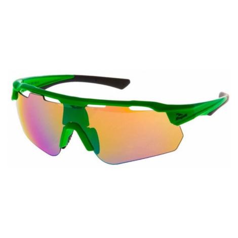 Radsport Brille Rogelli MERCURY mit austauschbar gläser, green 009.246.