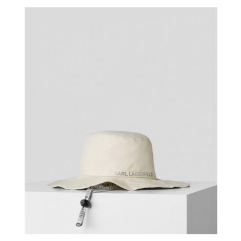 BUCKET HAT AUS LEINEN MIT KARL-LOGO Karl Lagerfeld
