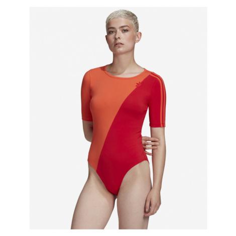 adidas Originals Adicolor Sliced Trefoil Body Rot Orange