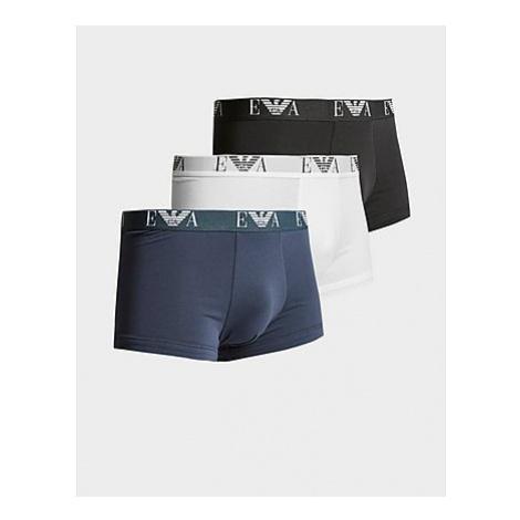 Emporio Armani Loungewear 3 Pack Boxeshorts Herren - White - Herren, White