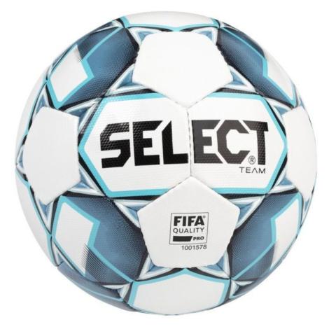Fußball Ball Select FB Team FIFA weiß blue Grösse. 5