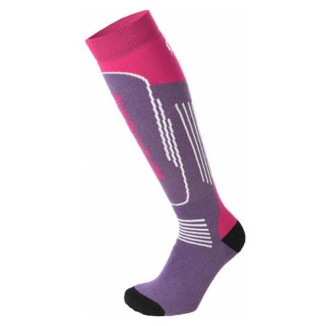 Mico SUPERTHERMO JR violett - Kinder Skistrümpfe
