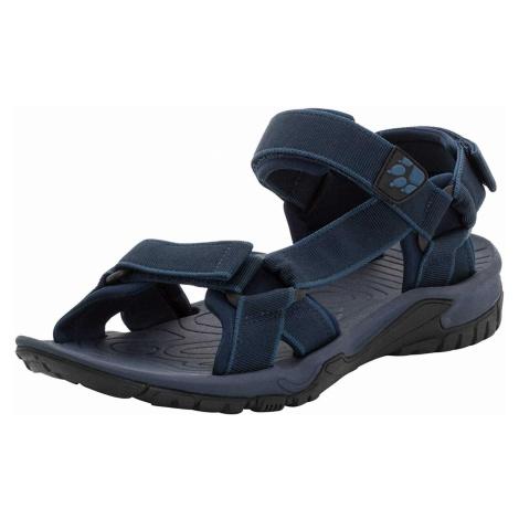 Herren Jack Wolfskin Outdoor Sandalen blau LAKEWOOD RIDE SANDAL M