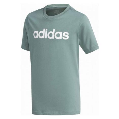 adidas YB E LIN TEE grün - Jungenshirt