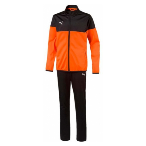 Puma ftblPLAY TRACKSUIT JR orange - Jungen Trainingsanzug