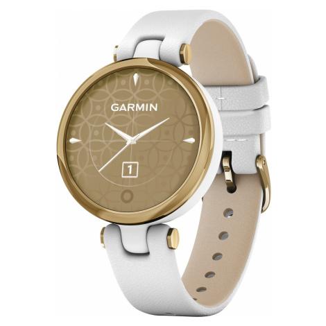 Garmin 010-02384-B3 Lily Classic Damen-Smartwatch Weiß/Hellgoldfarben