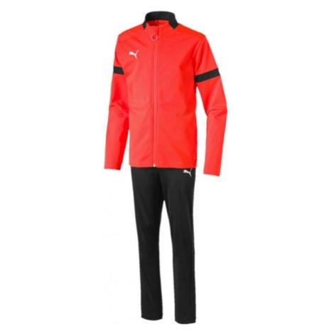 Puma FTBL PLAY TRACKSUIT JR schwarz - Trainingsanzug für Jungen