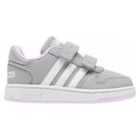 adidas HOOPS 2.0 CMF I weiß - Kinder Sneaker