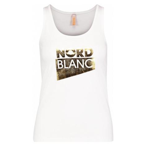 Damen baumwolle Tank Top/Shirt NORDBLANC Incision NBSLT6734_BLA