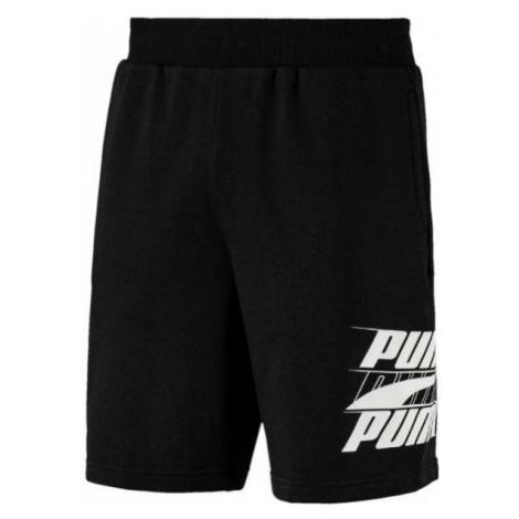 Puma REBEL BOLD SHORTS 9R schwarz - Herren Shorts