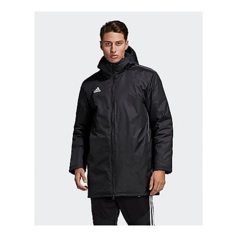 Adidas Core 18 Stadium Jacke - Black / White - Herren, Black / White
