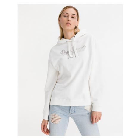 Pepe Jeans Adele Sweatshirt Weiß