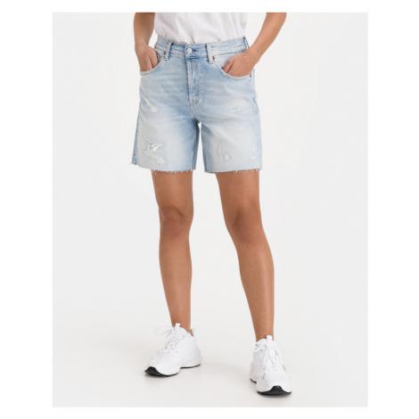 Replay Rose Shorts Blau