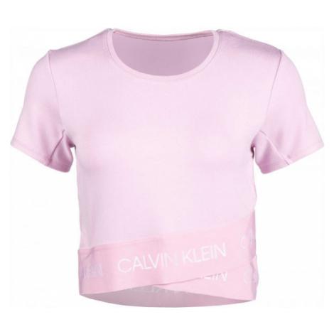 Calvin Klein MMF KNITTED SWEATSHIRT rosa - Damenshirt