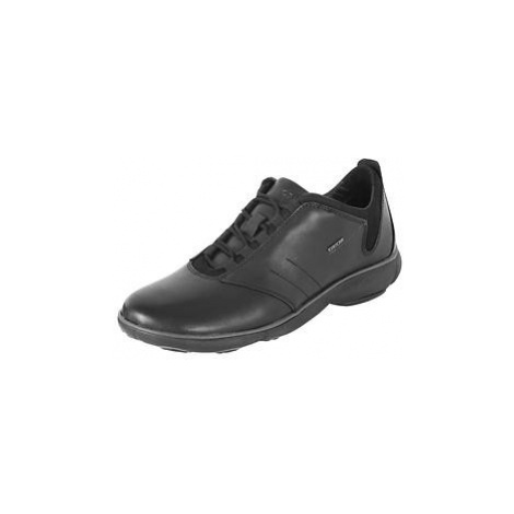 Leder-Sneaker schwarz Gr.41 Geox