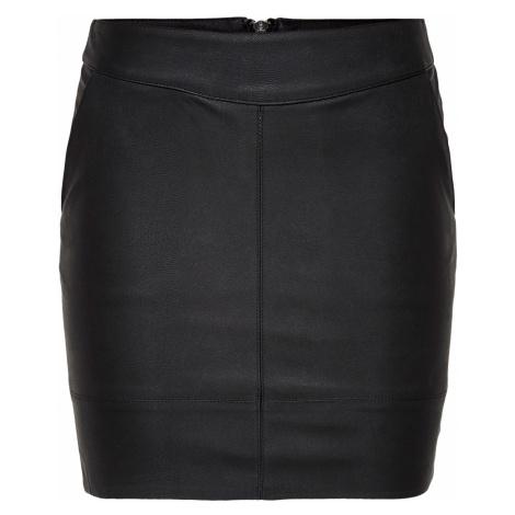 Only Damen Kunstleder Rock Onlbase Faux Leather Skirt