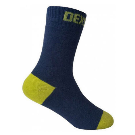 Socken DexShell Ultra Thin Children Sock Marine / Kalk