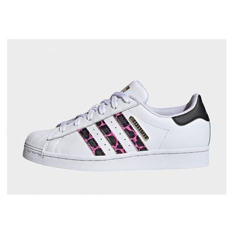 Adidas Originals Superstar Schuh - Cloud White / Screaming Pink / Core Black - Damen, Cloud Whit