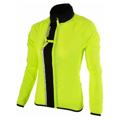 Damen ultra Light Jacke Silvini GELA WJ802 neon-schwarz