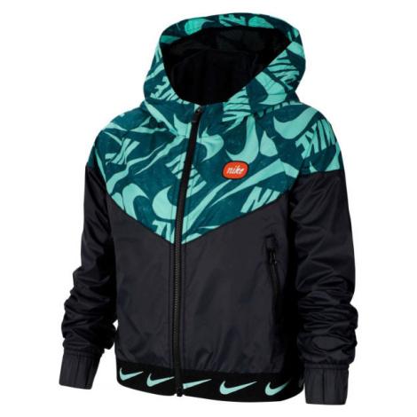Nike NSW WR JACKET JDIY G schwarz - Mädchenjacke