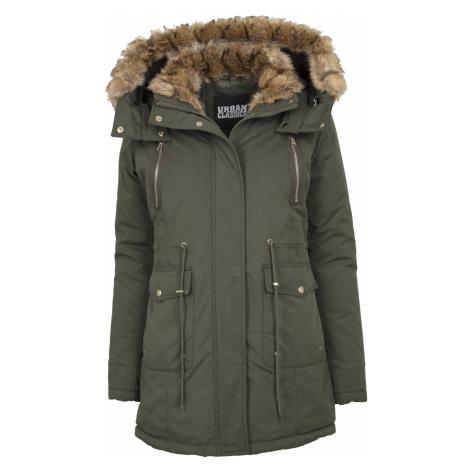 Urban Classics Ladies Imitation Fur Parka