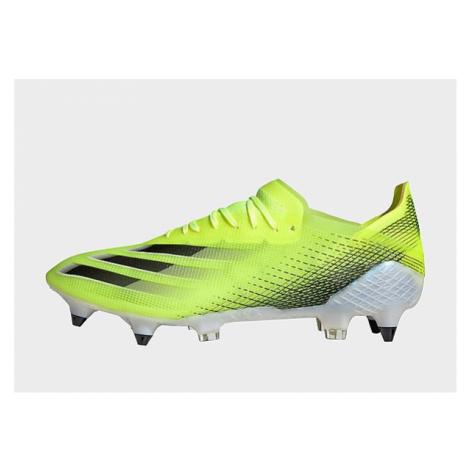 Adidas X Ghosted.1 SG Fußballschuh - Solar Yellow / Core Black / Royal Blue - Herren, Solar Yell