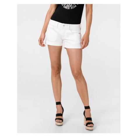 Pepe Jeans Siouxie Shorts Weiß