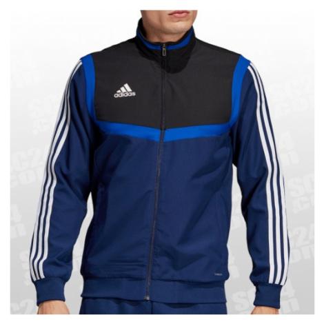 Adidas Tiro 19 Präsentationsjacke blau/schwarz Größe S