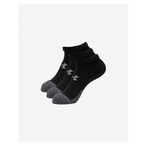 Under Armour HeatGear® 3 Paar Socken Schwarz