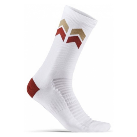Socken CRAFT Spécialiste Summ 1909516-900395 white mit blau