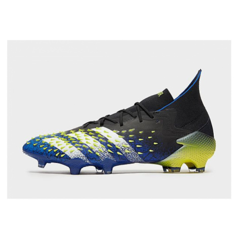 Adidas Predator Freak.1 FG Fußballschuh - Core Black / Cloud White / Solar Yellow - Damen, Core