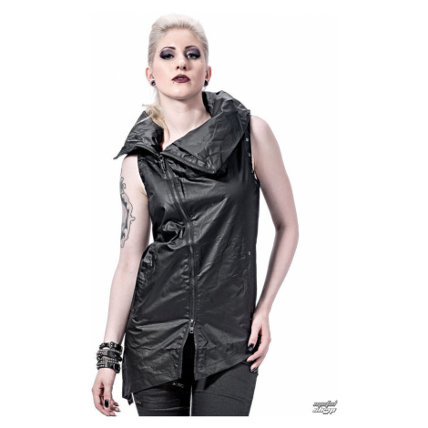 Weste Frauen - Collar and Assymetric - QUEEN OF DARKNESS - VE1-003/13 L