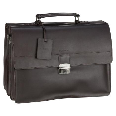 Burkely Aktentasche Vintage Dean Briefcase 6379 Dark Brown (14.6 Liter)