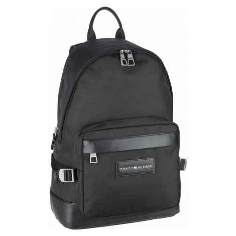 Tommy Hilfiger Laptoprucksack Uptown Nylon Backpack PF20 Black (25.8 Liter)